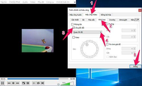 phần mềm xoay video