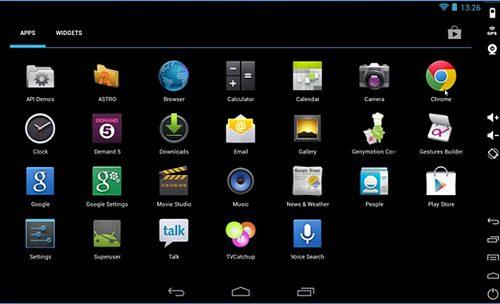 phần mềm giả lập android trên win 7