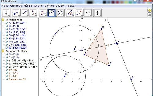 phần mềm vẽ hình không gian