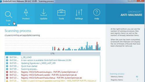 Phần mềm diệt malware