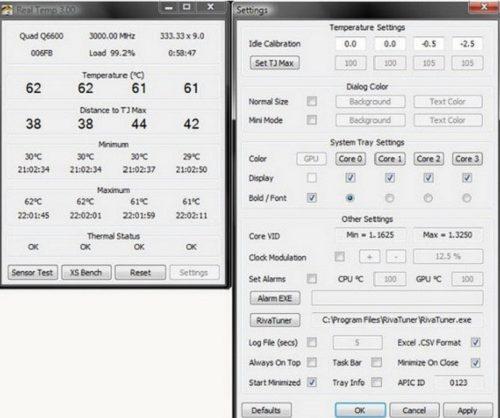 phần mềm đo nhiệt độ