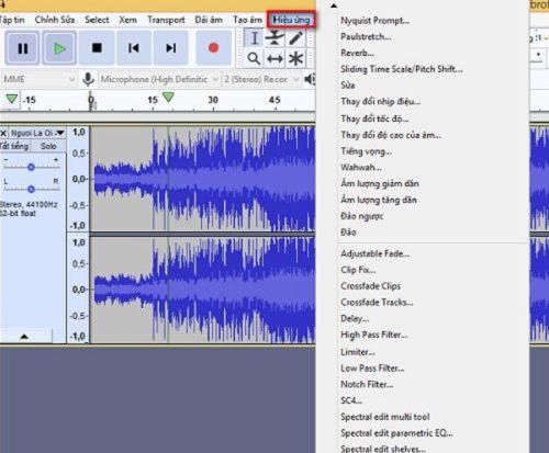 phần mềm tách beat