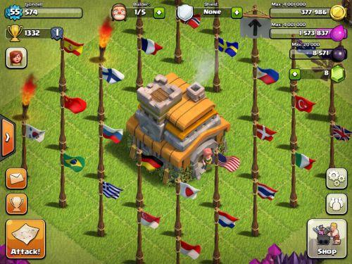 acc clash of clan miễn phí