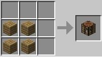 Cách làm bàn minecraft