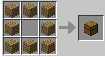 Cách chế tạo rương minecraft