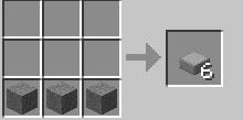 Cách chế tạo đá mảng minecraft