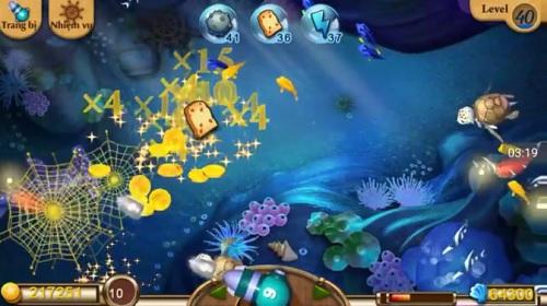 các game thể loại bắn cá