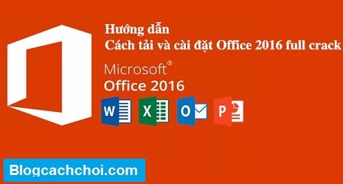 tải office 2016 full crack